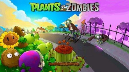 Plants vs Zombies скачать на андроид