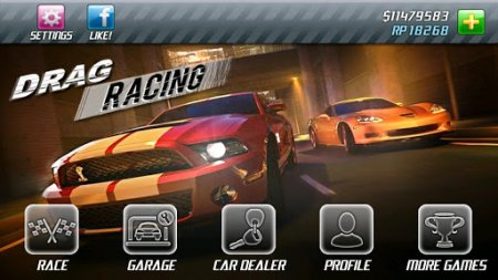 Drag Racing Real 3D на андроид