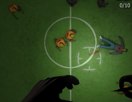 Истребитель зомби – играть онлайн!