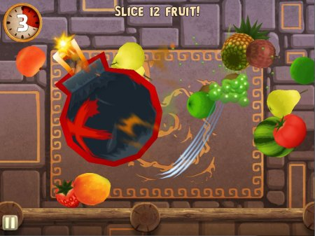 Fruit Ninja: Puss in Boots - ниндзя фрут для андроид