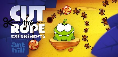 Cut the Rope: Experiments - экспериментируем с Ам-Нямом на андроид