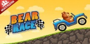 Детская игра Bear Race на андроид