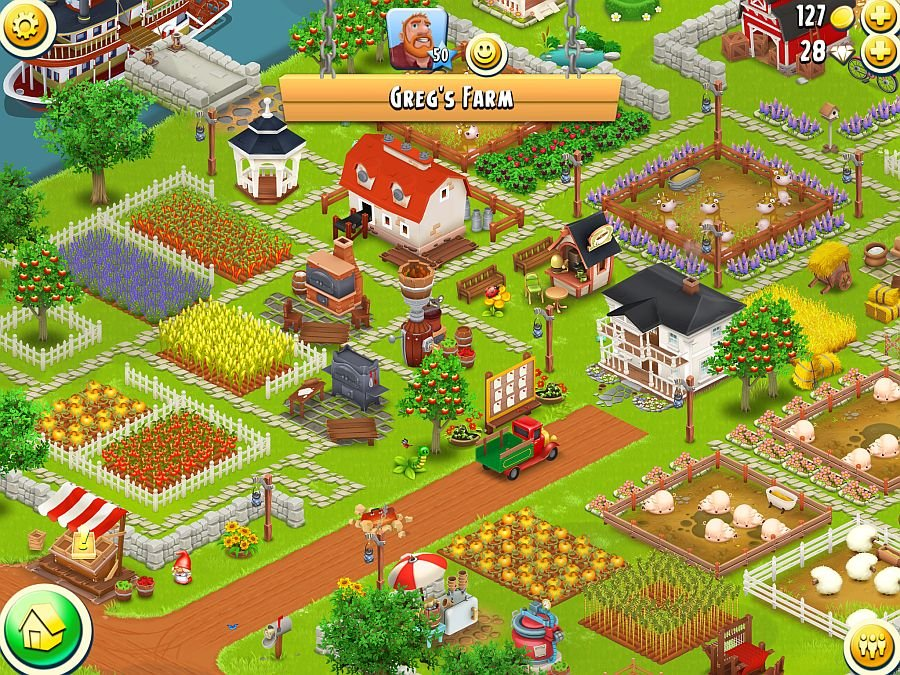Hay day дизайны фермы