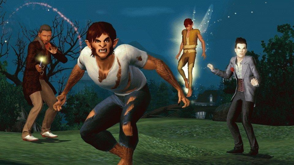 Скачать sims 3 supernatural rus на телефон