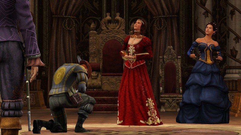 the sims medieval 3 скачать торрент