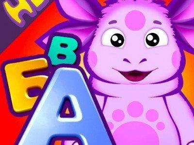 Лунтик учит алфавит - отличная развивающая игра