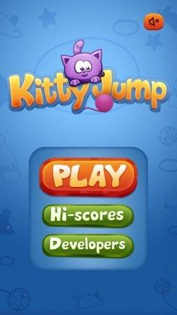 Детская аркада Kitty Jump для андроид