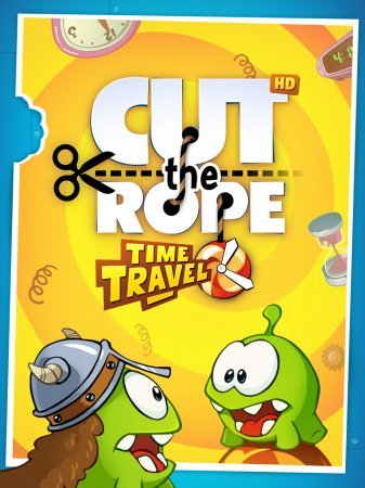 ������� ���� �� ������� Cut the Rope Time Travel