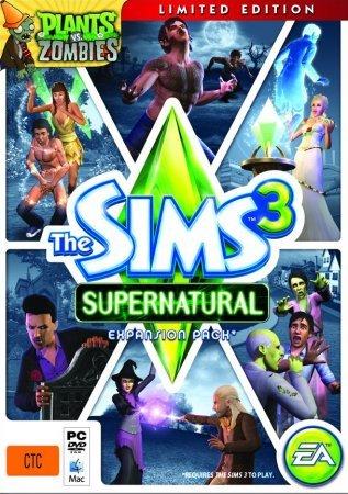 Скачать торрент The Sims 3 Supernatural
