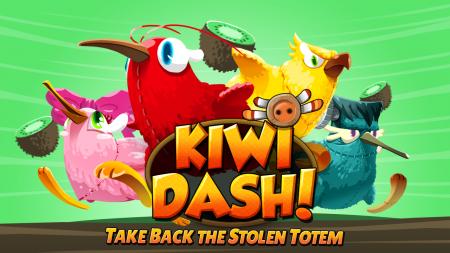 Kiwi Dash – отличные безумный раннер