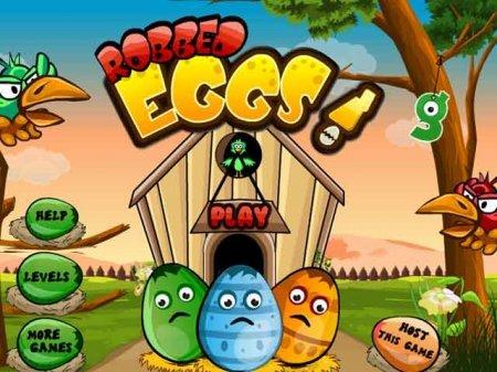 Robbed Eggs – отличная физическая головоломка для детей и взрослых.