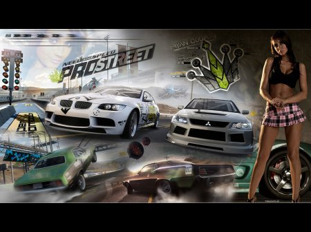 Need For Speed Pro Street � ������� ����� ������� �� �������� �����
