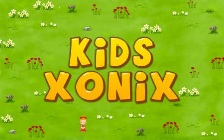 Kids Xonix для андроид