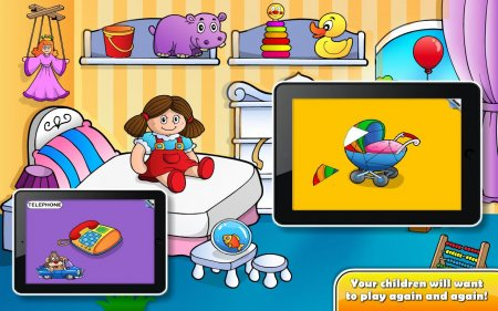 Kids Shape Puzzle for Toddlers - мини игры для детей на android