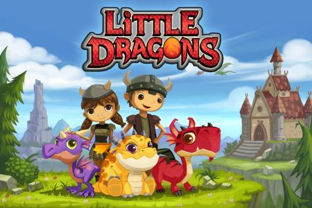 Little Dragons - скачать детскую игру на Андроид