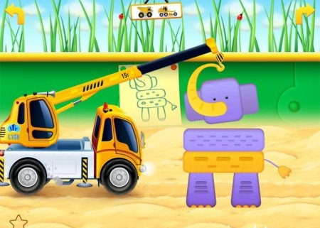 Cars in sandbox Construction для андроид