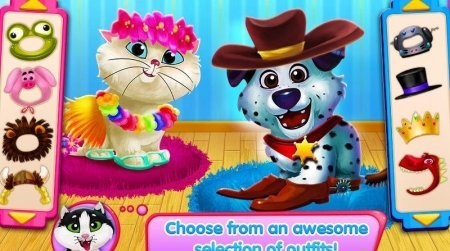 Kitty & Puppy: Love Story на Android
