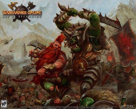 Warhammer Online - вселенная боевого молота в формате мультиплеерной игры