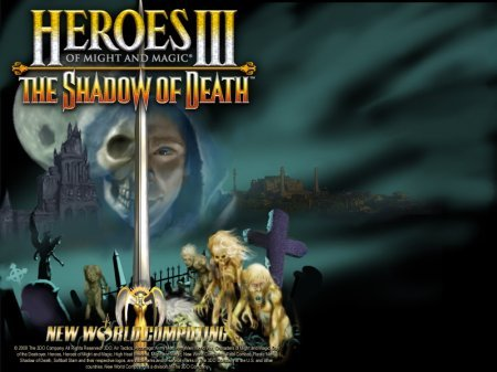 Heroes of Might and Magic III The Shadow of Death - Эрафия окутана смертью