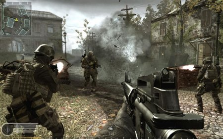 Скачать Call of Duty 4 Modern Warfare - жесткость современности