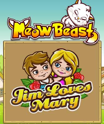Джим любит Мэри – играть у нас онлайн вдвоем!
