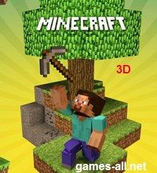 Майнкрафт выживание 3д играть mine clone 3d онлайн