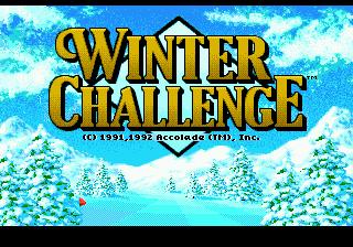 Winter Challenge – зимние олимпийские игры в