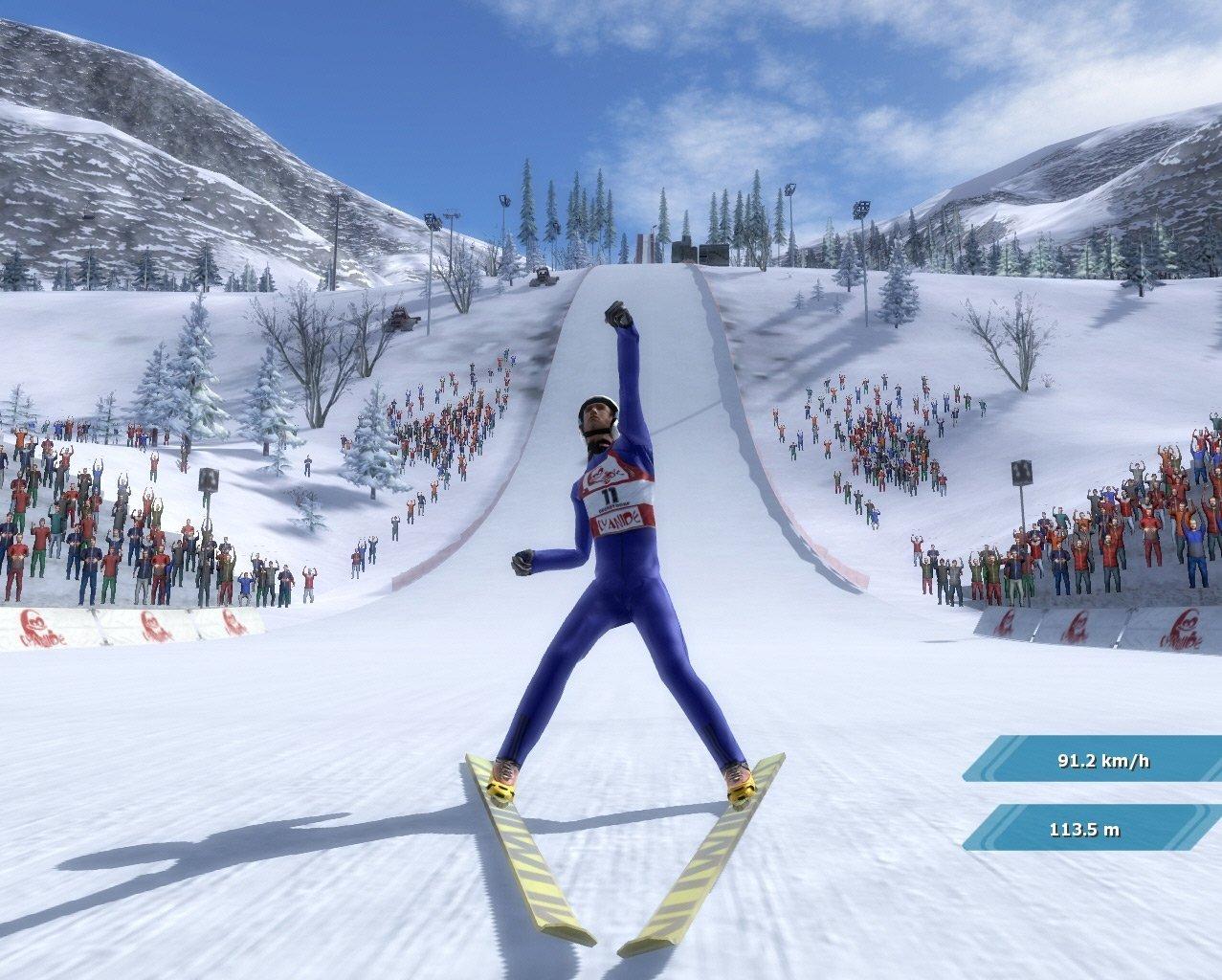 Скачать игру лыжный спорт на компьютер