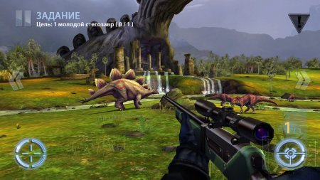 Скачать Dino Hunter: Deadly Shores для андроид