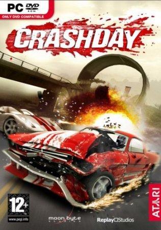 Crashday – день, когда законы физики разрешают полеты автомобилей