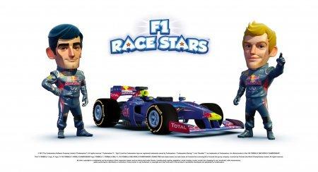 F1 Race Stars – детская гоночная игра с красивыми