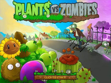 Plants vs Zombie – увлекательная
