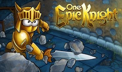 One epic knight android увлекательный раннер на android