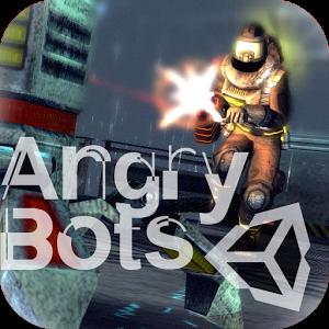 Angry Bots для андроида