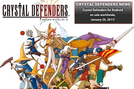 Crystal Defenders для андроид