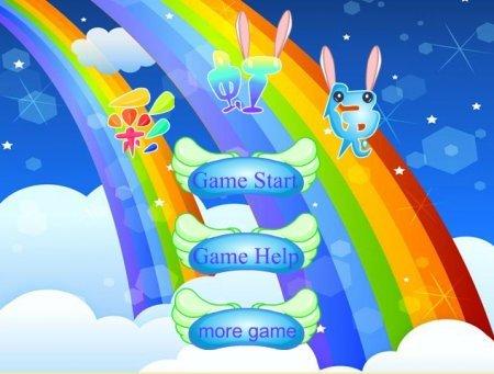 Радужный кролик 3 – играть у нас онлайн!