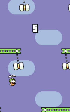 ������� Swing Copters �� �������
