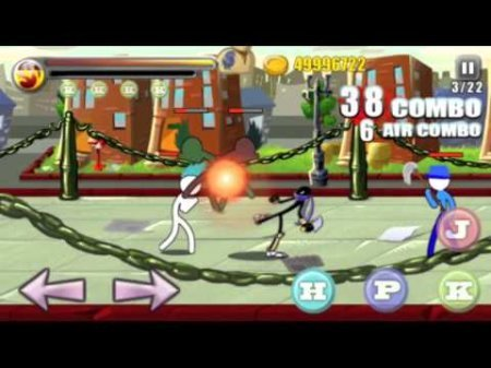 Ultimate stick fight android