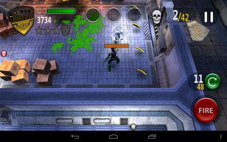 Judge Dredd vs Zombies Android