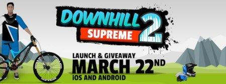 Спортивная игра Downhill Supreme на Android