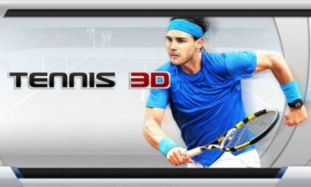 Теннис пальцем на андроид (Tennis 3D android)