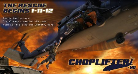 Choplifter HD Android