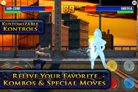 Ultimate mortal combat 3 android