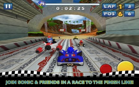 Sonic and Sega All-Stars Racing Android