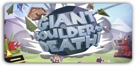 Giant boulder of death android