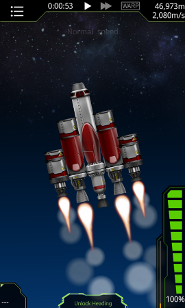 Simple rockets android