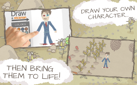 Draw a stickman epic android