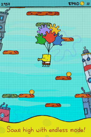 Doodle Jump Sponge Bob Android