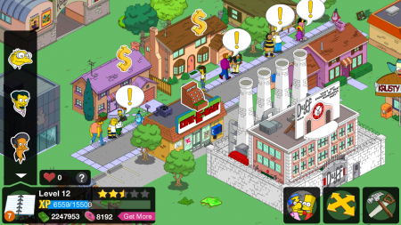 The simpsons tapped out ������� �� �������
