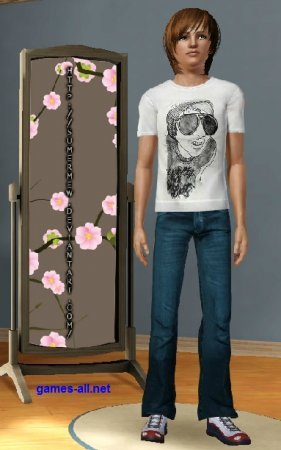 ���� 3 ����� �������� - Sims 3 Dress up boy